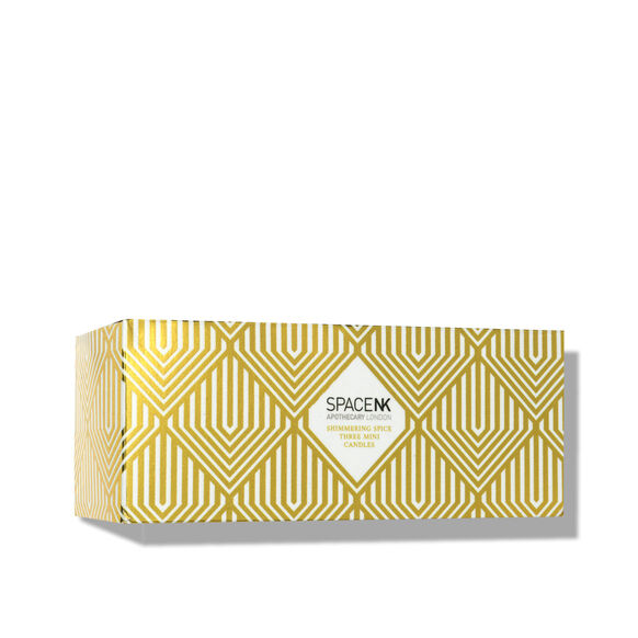 Space NK Shimmering Spice Candle Trio, , large, image3