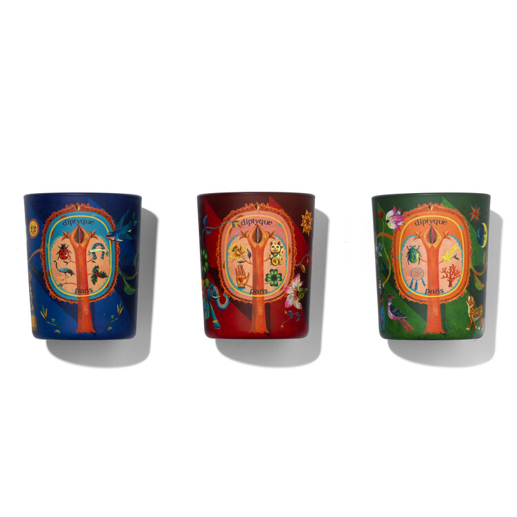 Set Of Three Scented Candles, , large
