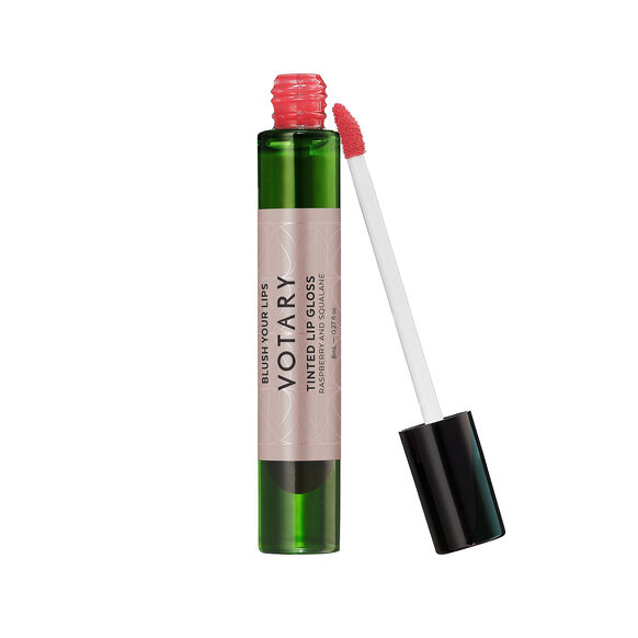 Tinted Lip Gloss Raspberry and Squalane, , large, image1