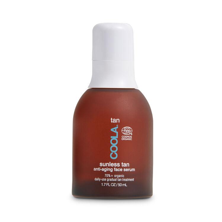 Organic Sunless Tan Anti-Aging Face Serum, , large