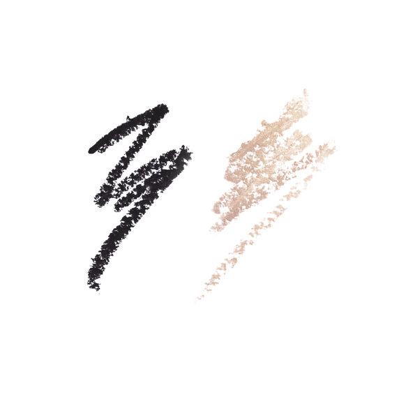 Hollywood Exagger-eyes Liner Duo, BLACK, large, image3