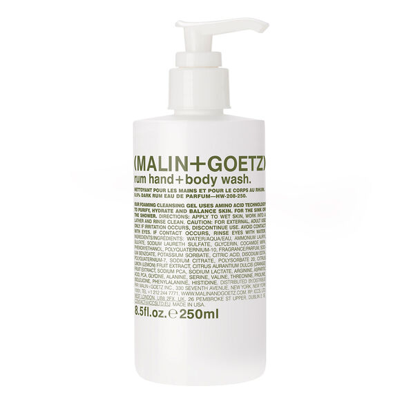 Rum Hand and Body Wash, , large, image1