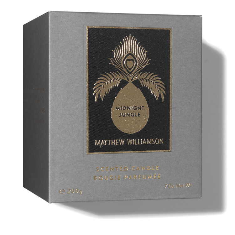 Midnight Jungle Scented Candle 200g, , large