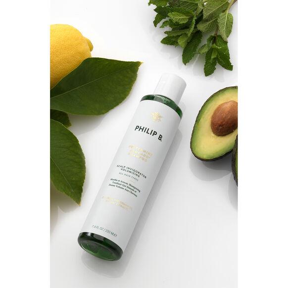 Peppermint & Avocado Volumising & Clarifying Shampoo, , large, image3