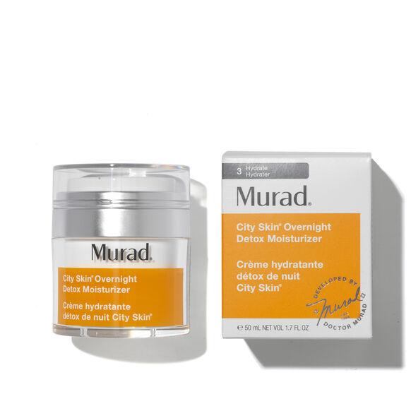 City Skin Overnight Detox Moisturiser, , large, image3