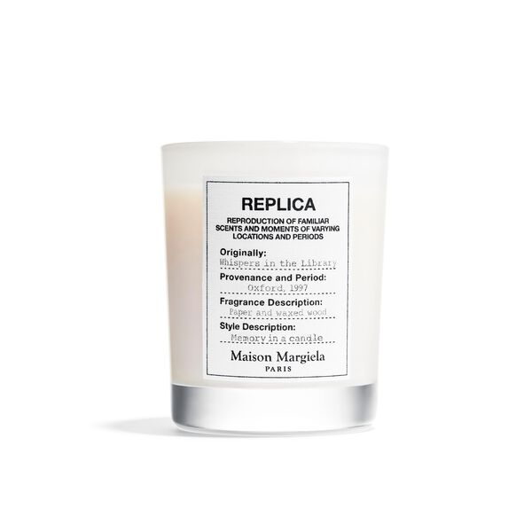 Replica Whispers in the Library Candle, , large, image1