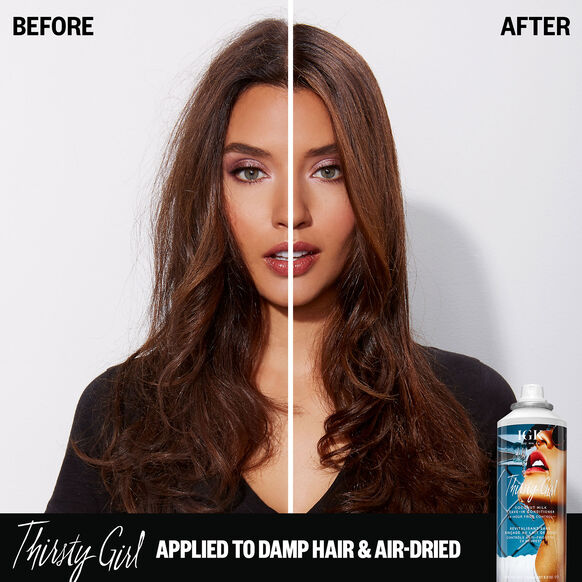 Thirsty Girl Coconut Milk Leave-in Conditioner 24-Hour Frizz Control, , large, image4