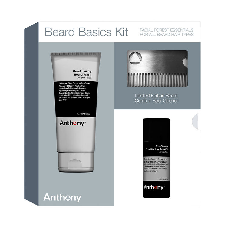Beard Basics Kit, , large