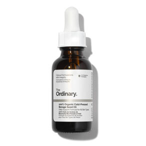 100% Organic Cold-Pressed Borage Seed Oil