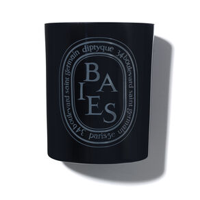 Baies Coloured Candle