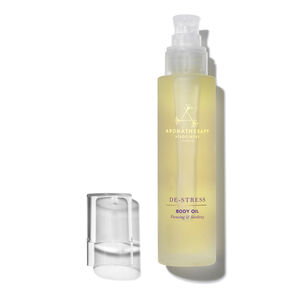 De-Stress Massage Body Oil, , large