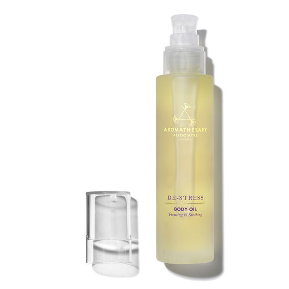 De-Stress Massage Body Oil, , large, image2