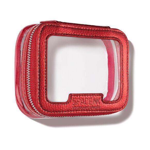 Space NK Travel Bag Mini, METALLIC RED, large, image2
