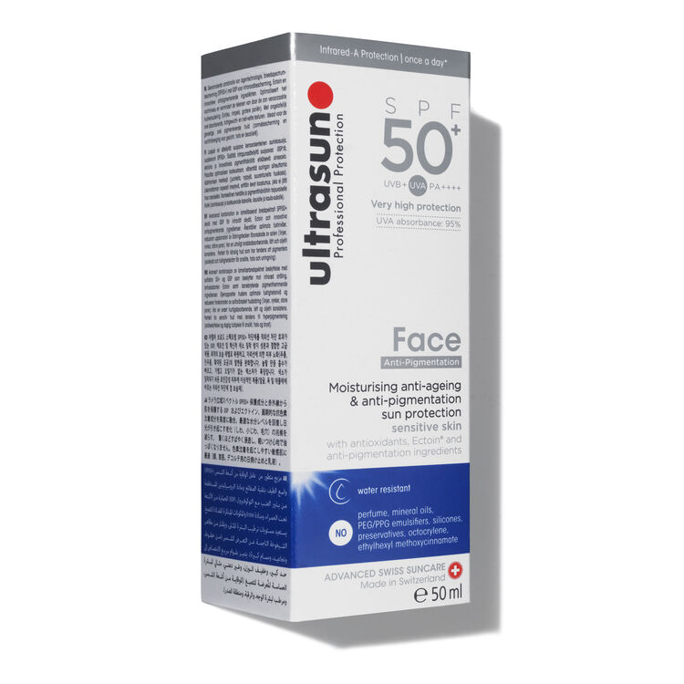Ultrasun Very High 50+ SPF Face Anti Pigmentation Treatment, , large