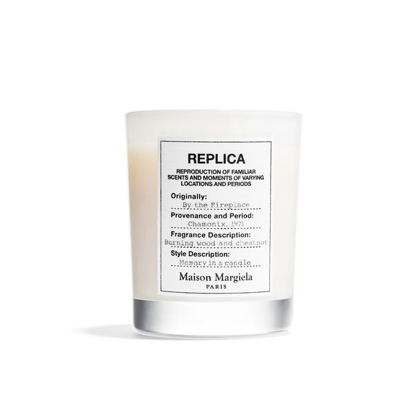By the Fireplace Candle, , large, image1