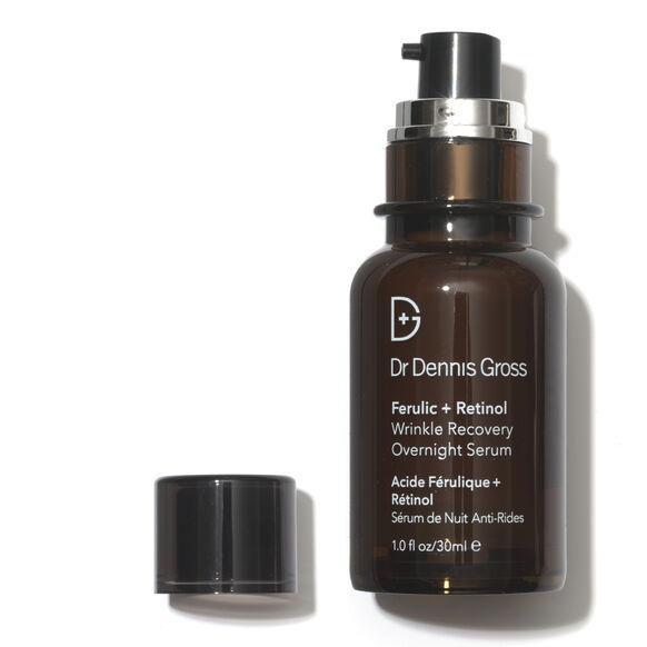 Ferulic + Retinol Wrinkle Recovery Overnight Serum, , large, image2