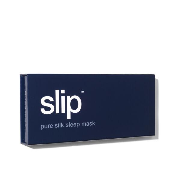 Silk Sleep Mask, NAVY, large, image3