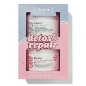 Detox + Repair Scalp Shampoo + Hair Repair Mask