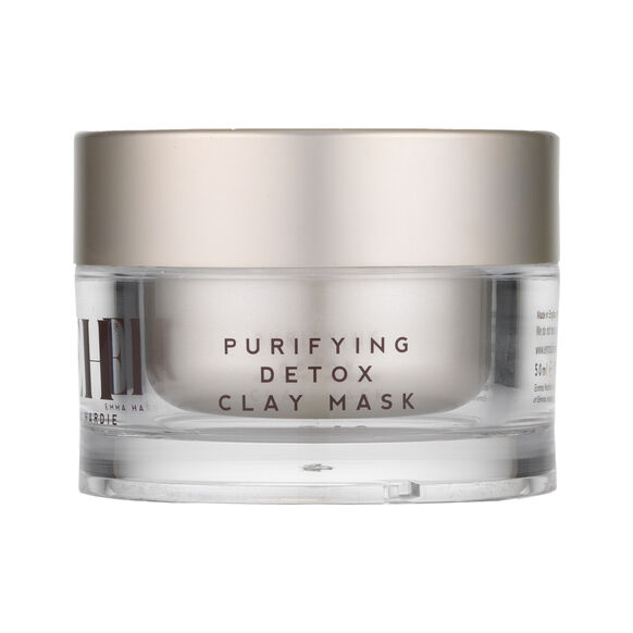 Purifying Detox Clay Mask With Dual Action Cleansing Cloth, , large, image_1