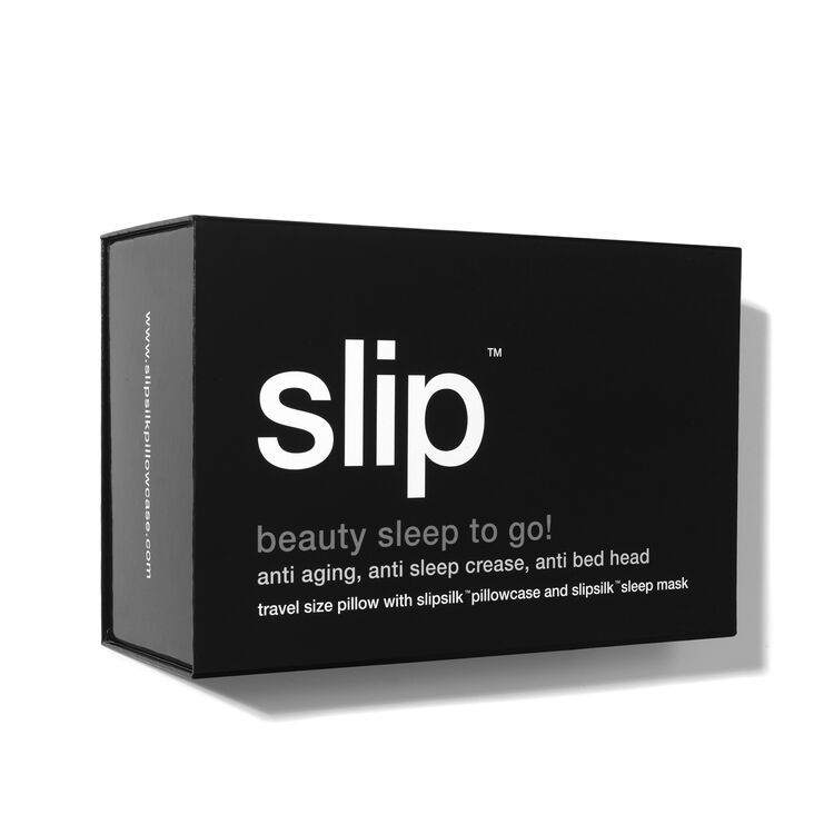 Beauty Sleep on the Go! Travel Set - Black, BLACK, large