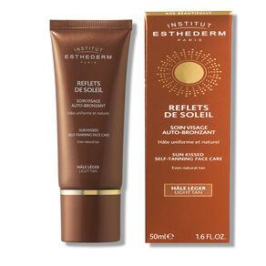 Sun Kissed Self-Tanning Face Cream Light Tan, , large
