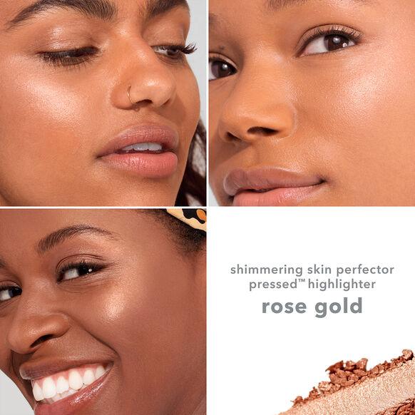 Shimmering Skin Perfector Pressed Highlighter, ROSE GOLD, large, image5