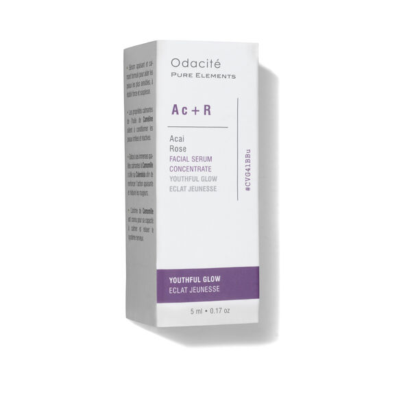 Ac+R Youthful Glow Serum Concentrate (Acai + Rose), , large, image4