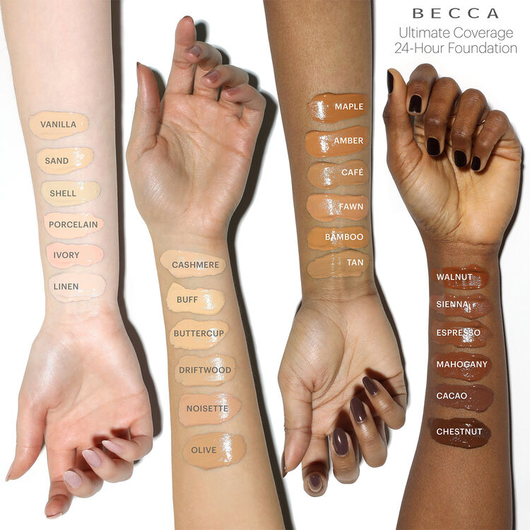 Ultimate Coverage 24-Hour Foundation, BUTTERCUP, large
