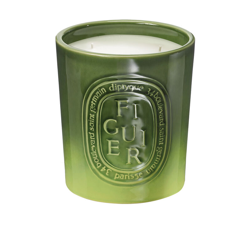 Large Figuier Scented Candle, , large