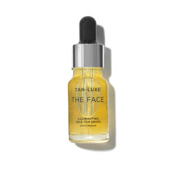 The Face Illuminating Tan Drops Travel Size, LIGHT/MEDIUM 10ML, large