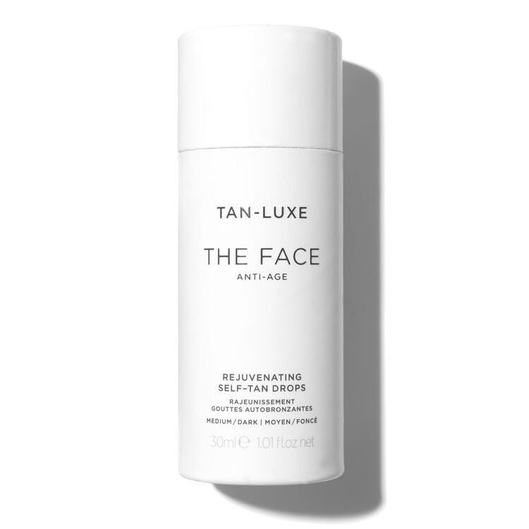 The Face Anti-Age Tan Drops, MEDIUM/DARK 30ML, large