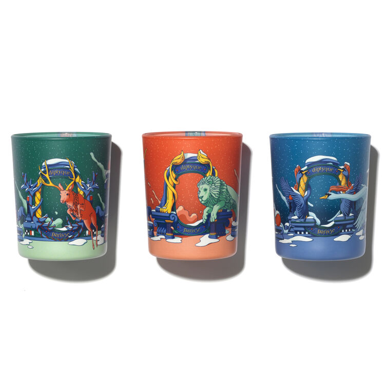 Set of 3 Candles, , large