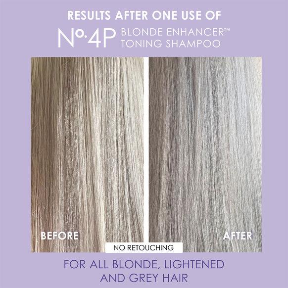 No. 4P Blonde Enhancer Toning Shampoo, , large, image7