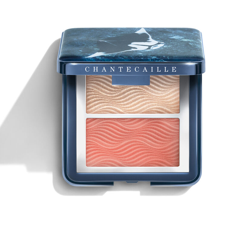 Cheek and Highlighter Duo, CORAL, large