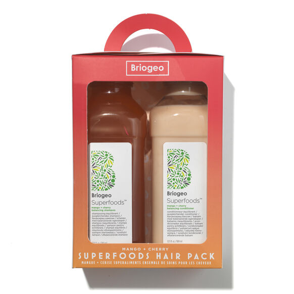 Superfoods Mango and Cherry Balancing Shampoo and Conditioner Duo, , large, image2