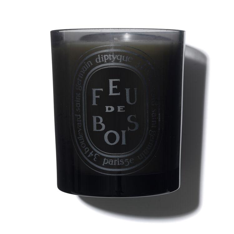 Feu de Bois Coloured Scented Candle 300g, , large