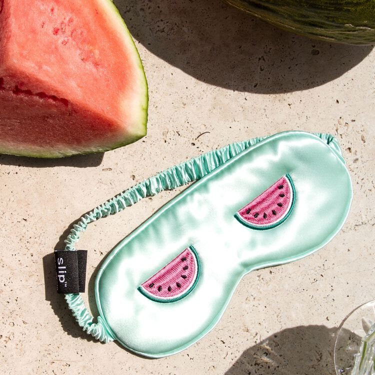Silk Sleep Mask Limited Edition, WATERMELON REFRESHER, large
