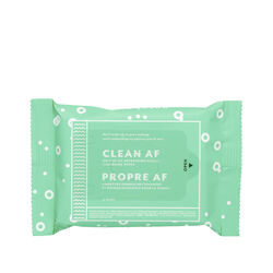 Clean AF Cleansing Wipes- 15 Wipes, , large