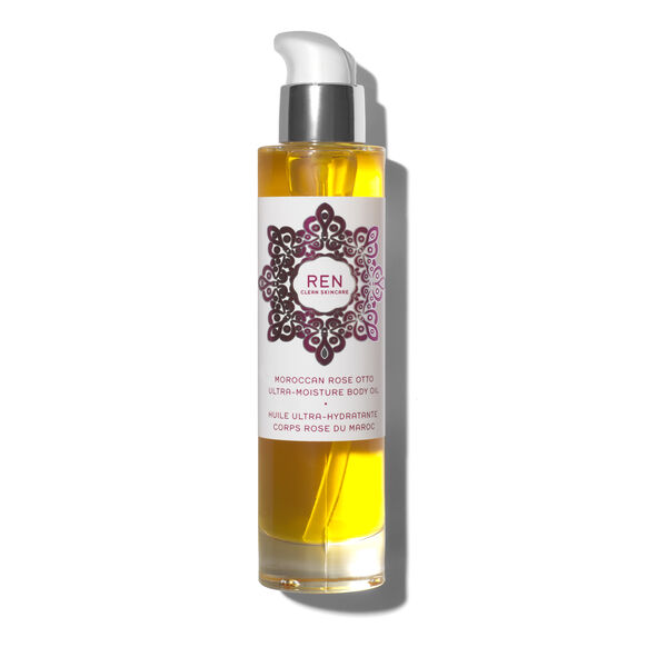 Moroccan Rose Otto Ultra-Moisture Body Oil, , large, image1