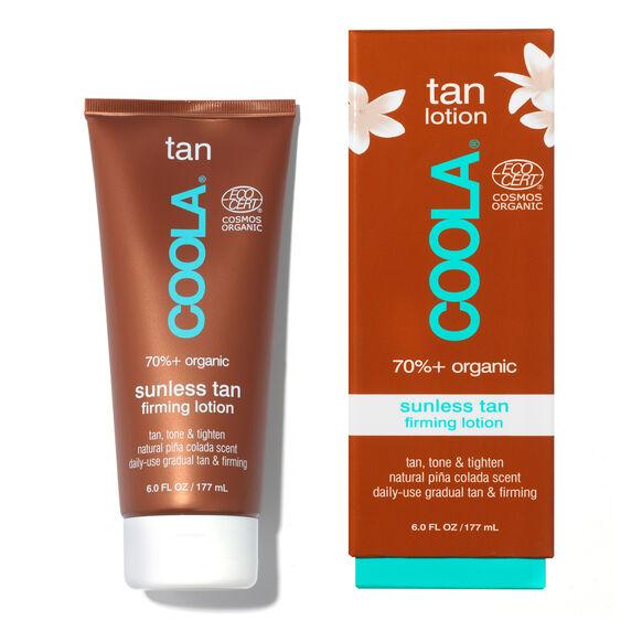 Organic Sunless Tan Firming Lotion, , large, image3