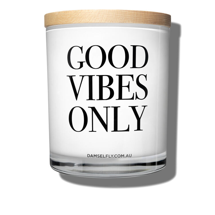 Good Vibes Only Candle, , large