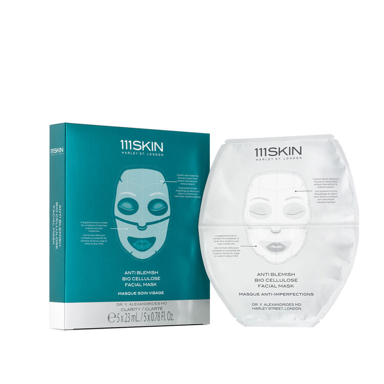 Anti Blemish Bio Cellulose Facial Mask, , large