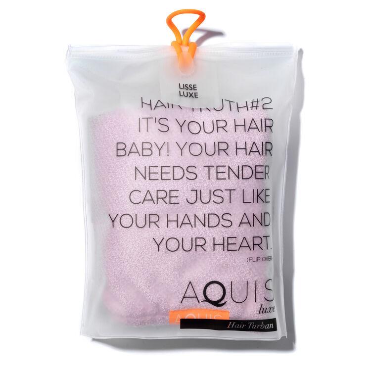 Hair Turban Lisse Luxe - Desert Rose, DESERT ROSE, large