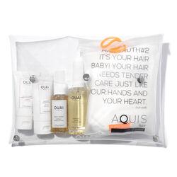 Ouai x Aquis Hair Essentials Set, , large