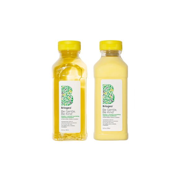 Banana + Coconut Nourishing Shampoo + Conditioner Duo for Dry Hair, , large, image1