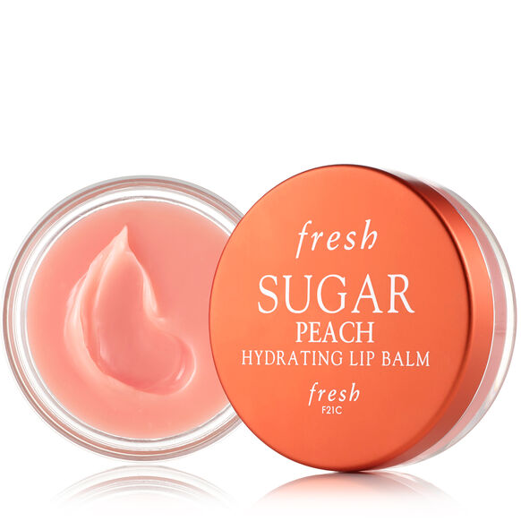 Sugar Hydrating Lip Balm, Peach, large, image1
