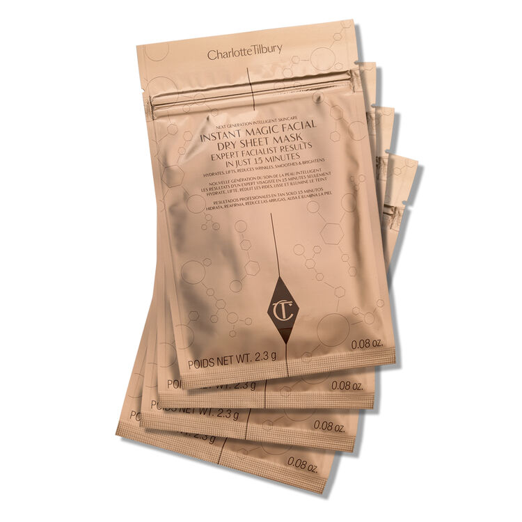 Instant Magic Facial Dry Sheet Mask, , large