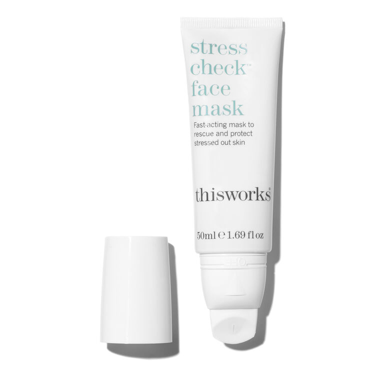 Stress Check Face Mask, , large