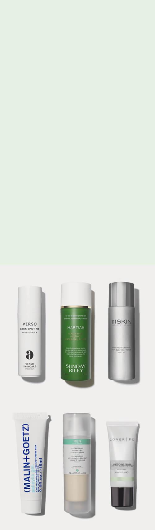 Acne skincare treatment