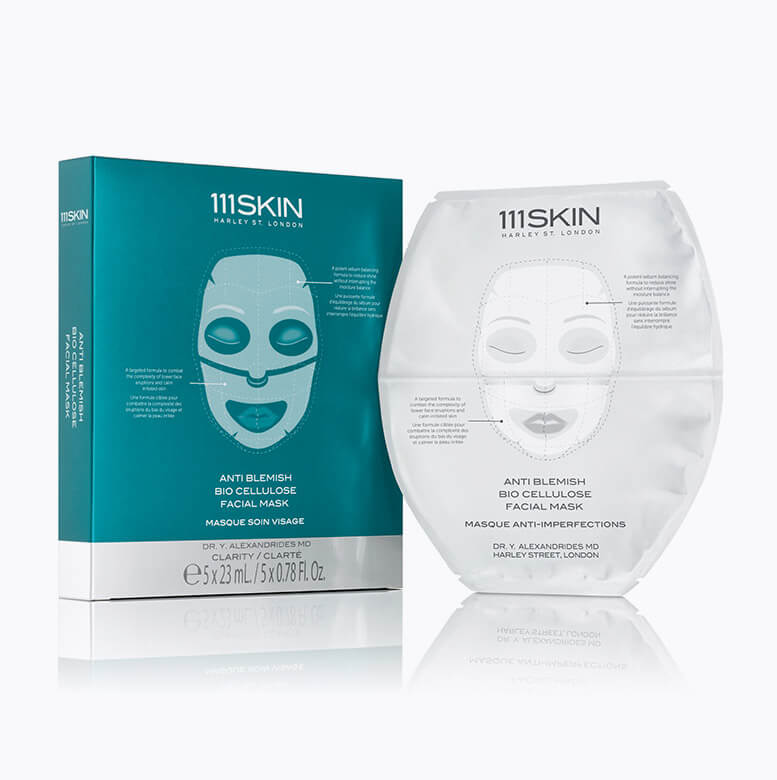111 SKIN BIO CELLULOSE FACIAL TREATMENT MASK